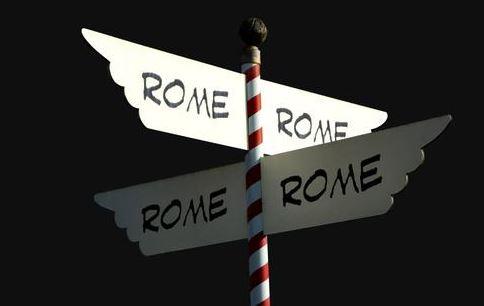 Origen de la expresión ''Todos los caminos conducen a Roma''