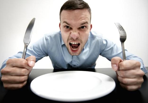 Nos enfadamos cuando tenemos hambre