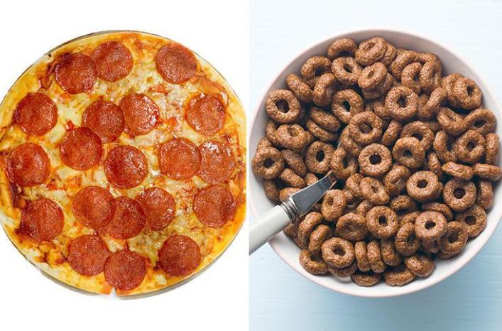 Es mejor desayunar pizza que cereales según los expertos