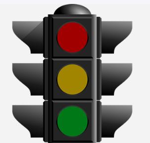 El origen de los colores de los semáfos